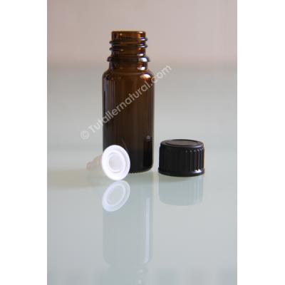 Frasco opaco de vidrio con obturador DIN18 (varios tamaños)