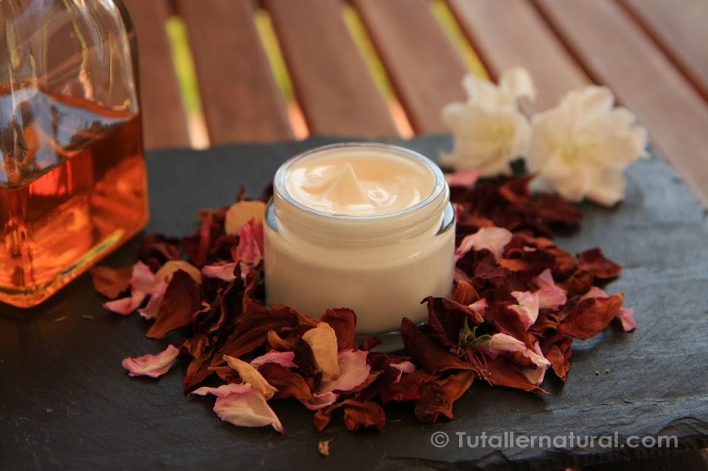 Formula quimica de la crema para piel